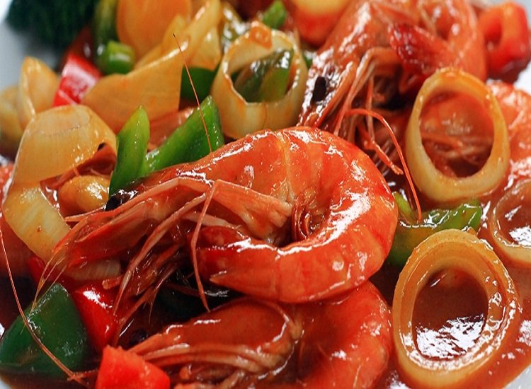 seafoods bahan baku