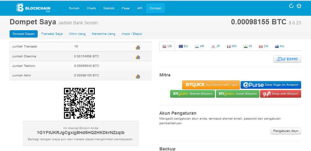mendaftar bitcoin