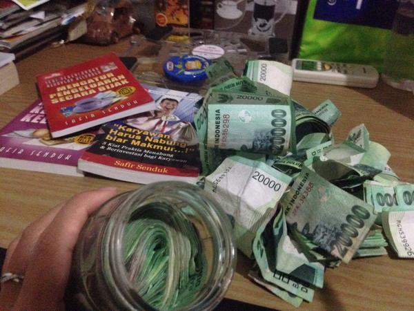 cara menyisihkan Uang