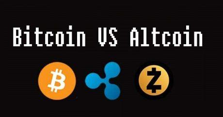 Bitcoin vs altcoin investment