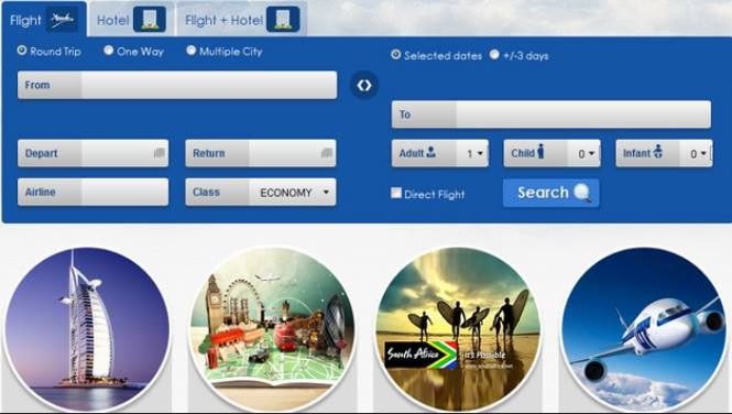 Software travel online