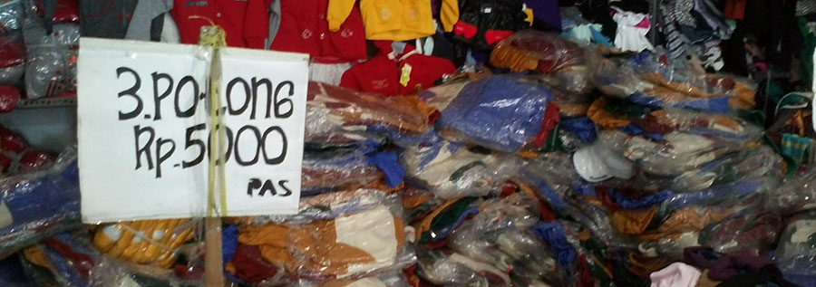 distributor pakaian