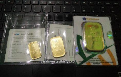 Cara Membeli Emas Batangan Harga Lebih Murah Yanga Aman