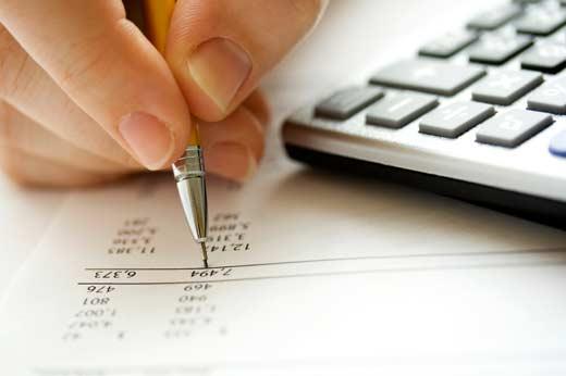 Catatan keuangan usaha