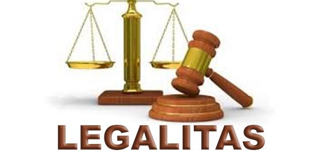 Legalitas