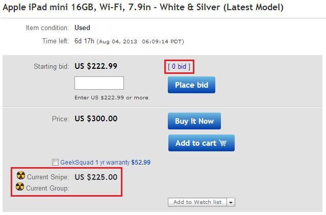 ebay bidding