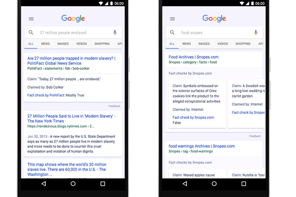 Google Fact Check