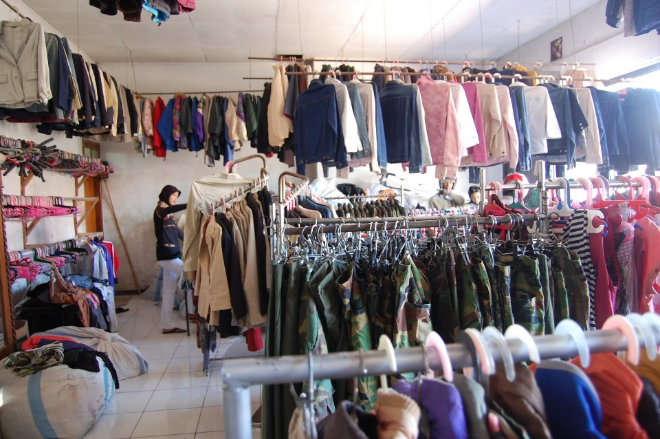 Supplier Pakaian Bekas