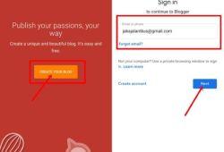 Tutorial Cara Membuat Blog di HP Agar Menghaslkan Uang