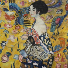 Klimt Lady with Fan