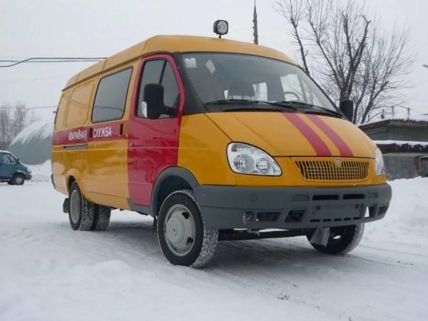 Автомобили аварийной газовой службы | carakoom.com