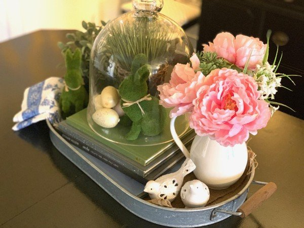 Spring Styled Tray