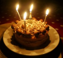 Being a proper grown-up - I'm going to be 21 next month - means no longer getting the right number of candles!