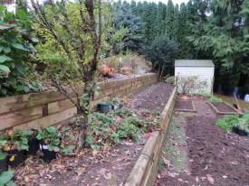 Three level raised bed garden = new vegetable garden