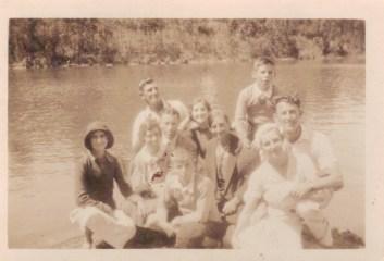 Family Christmas 1933