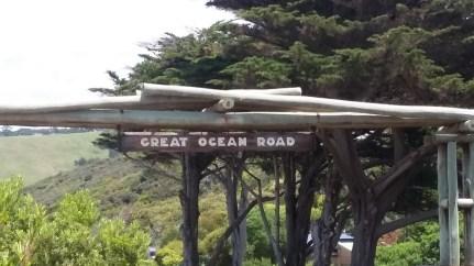 Great Ocean Road begins
