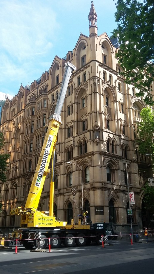Sunday building repairs