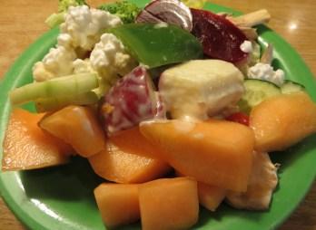 Fruit & beetroot salad