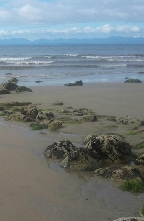 Low tide - West Coast beach