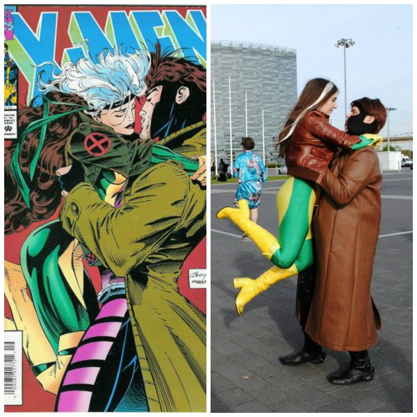 Rogue and Gambit Cosplay Cover Recreation