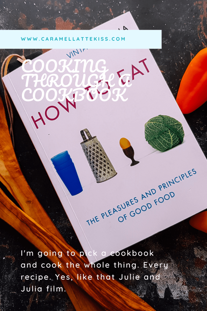 Cooking through a cookbook