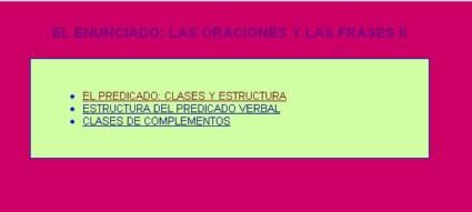 CLASES DE PREDICADOS