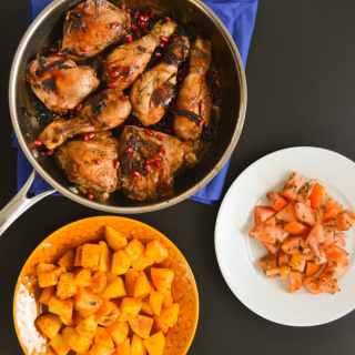 Chicken with Za'atar & Pomegranate Molasses