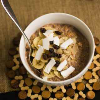 Cocoa, Fruit and Nut Overnight Muesli