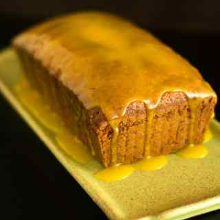 French Yoghurt Cake with Passionfruit Curd