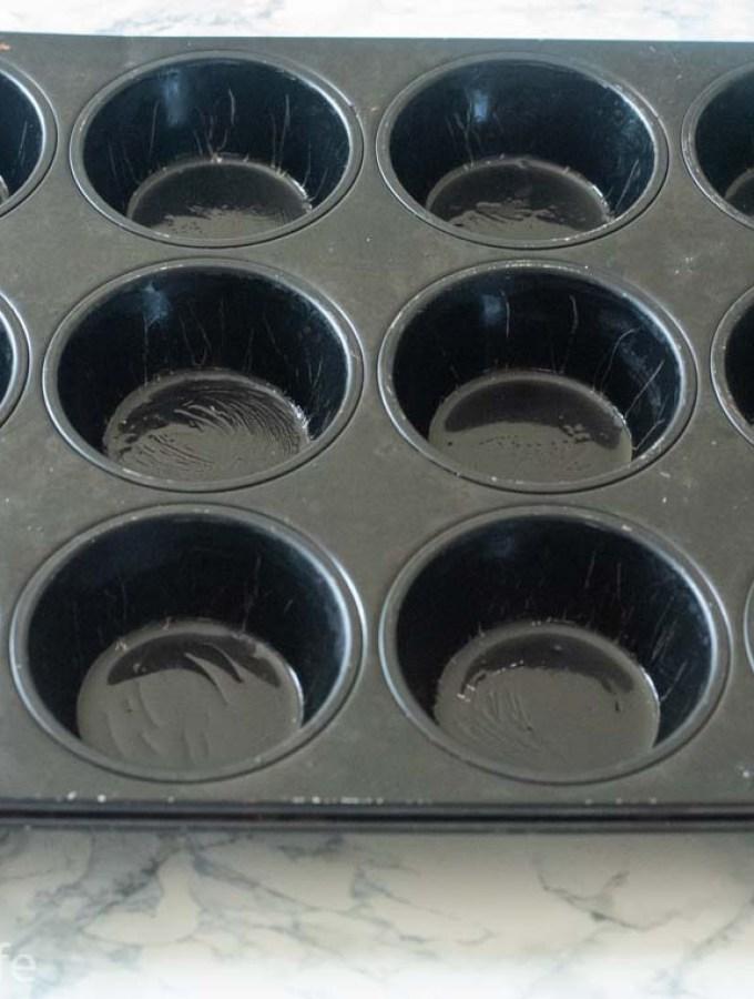 Savory Corn Muffins in a basket