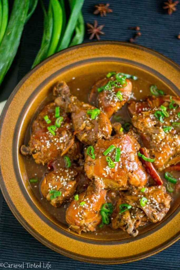 Instant Pot Ginger Soy Chicken