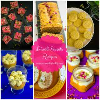 Diwali Sweet Treats – A collection of recipes inspired from traditional Indian sweets