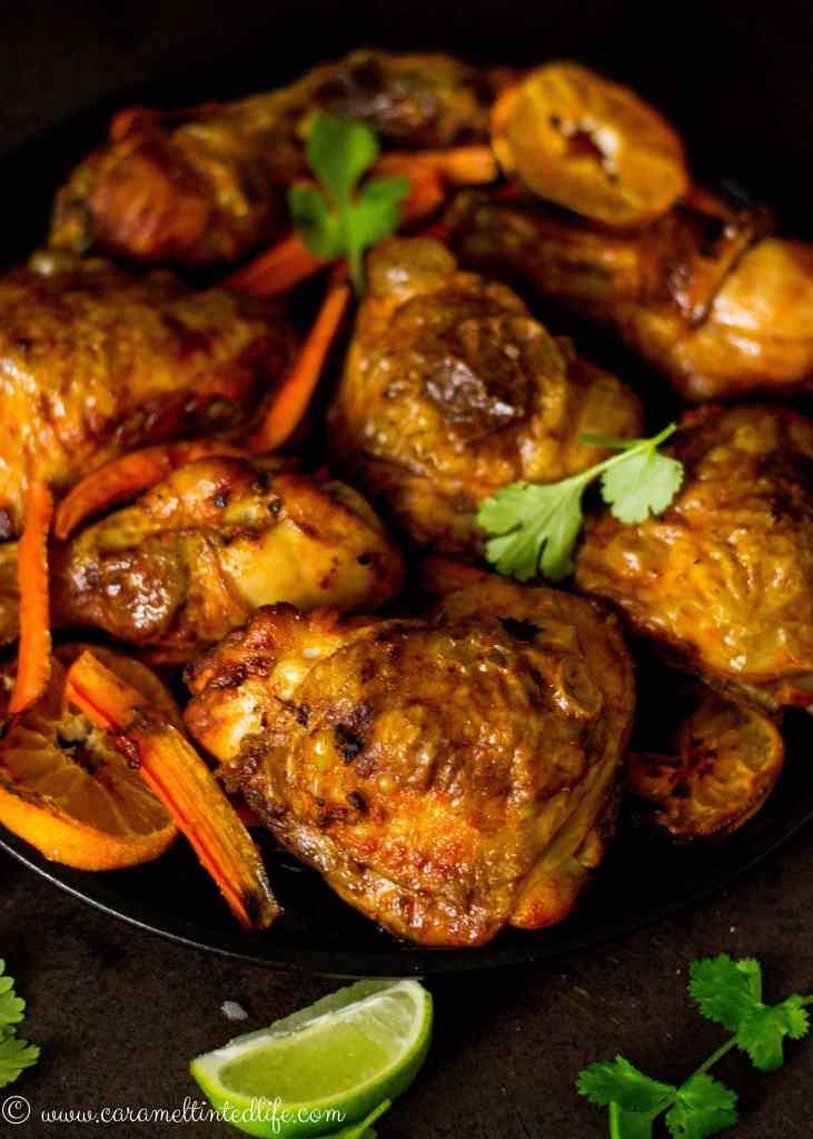 Smoked paprika and orange chicken