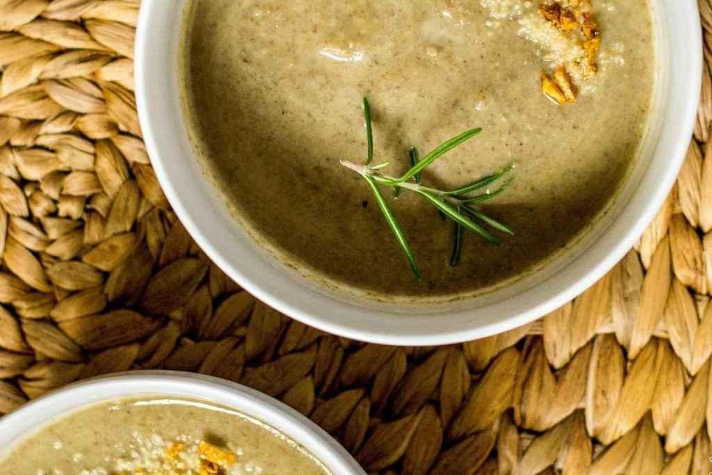 Instant Pot Leek and Mushroom Soup
