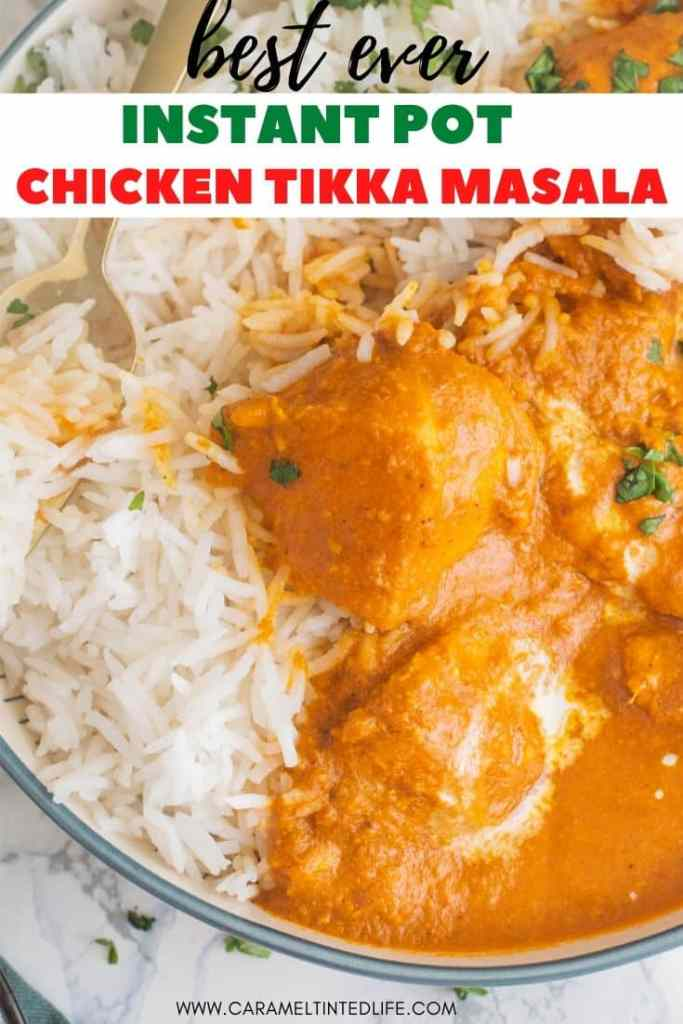 Chicken Tikka Masala with rice