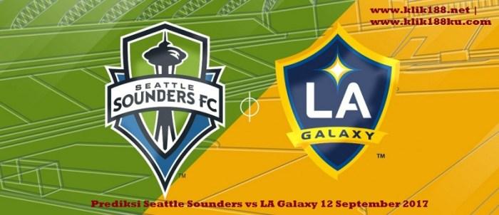 Prediksi Seattle Sounders vs LA Galaxy 12 September 2017 sbobet bola