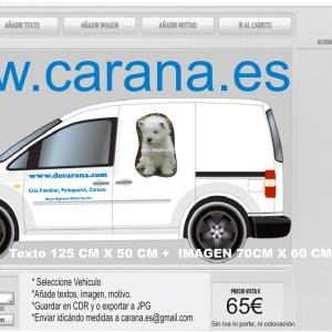 Rotulación Vehiculo-Texto-Imagen