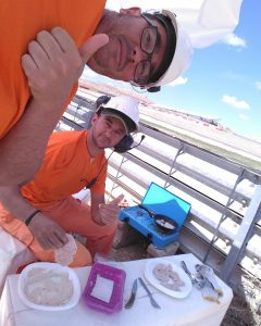 GP Aragon Daniel  Romaguera y Juan Dominguez