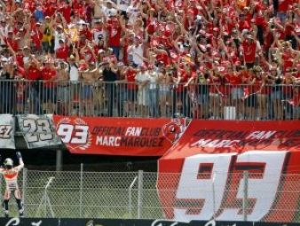 Grada Fan Club Marquez