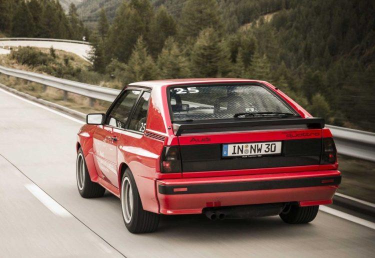 Audi Quattro Trasera