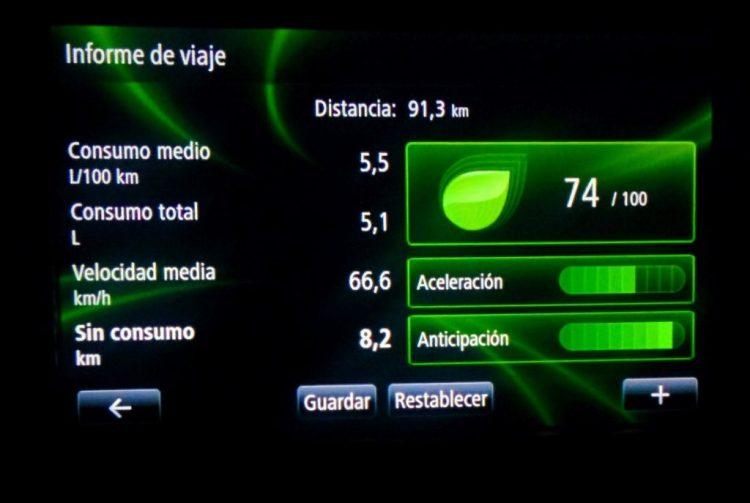 Consumo Clio GT Line