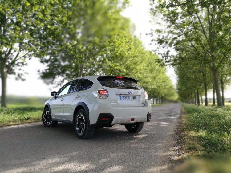 Subaru XV Boxer Diesel trasera ext