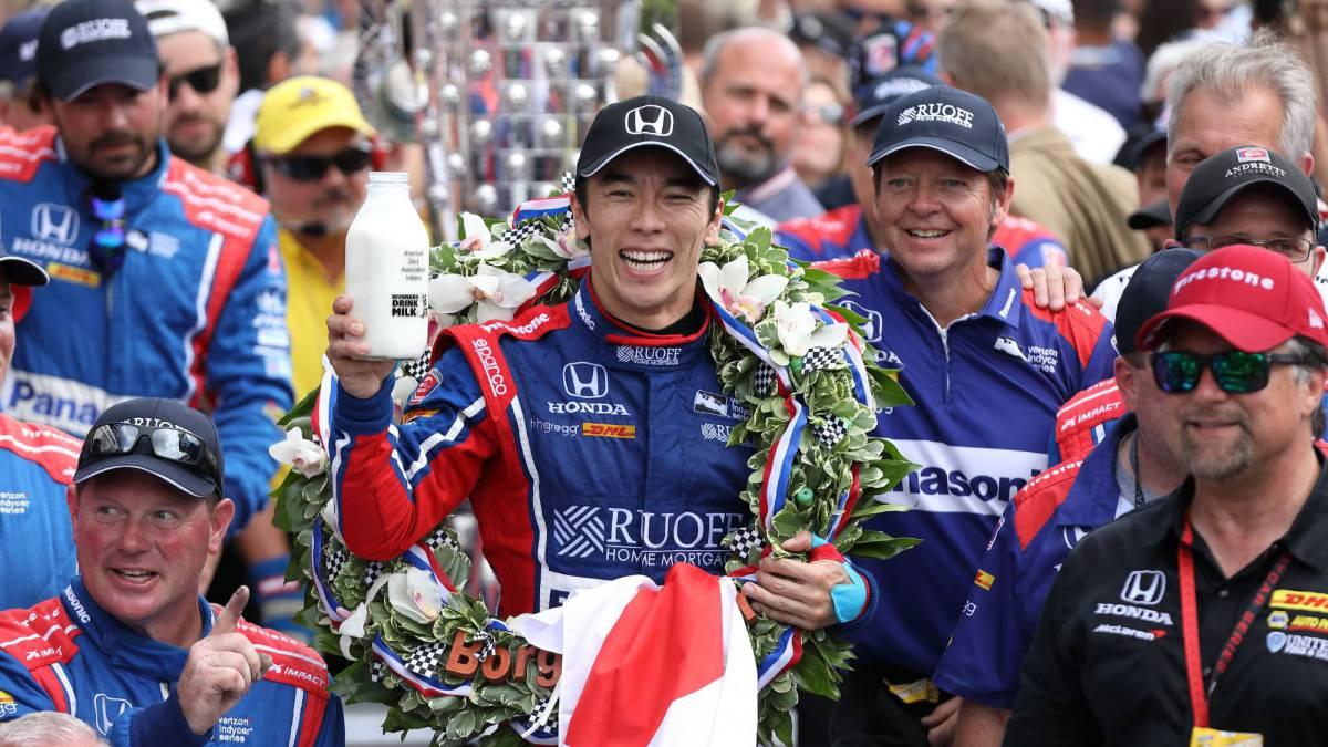 Takuma Sato Indy500 2017 Winner