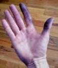 cara menghilangkan noda cat di kulit tangan