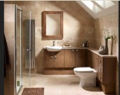 Desain Kamar Mandi Kecil Mungil Minimalis Sederhana Seperti Ruang Dapur