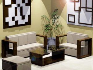 Desain Kursi dan Sofa Ruang Tamu Minimalis Modern 4