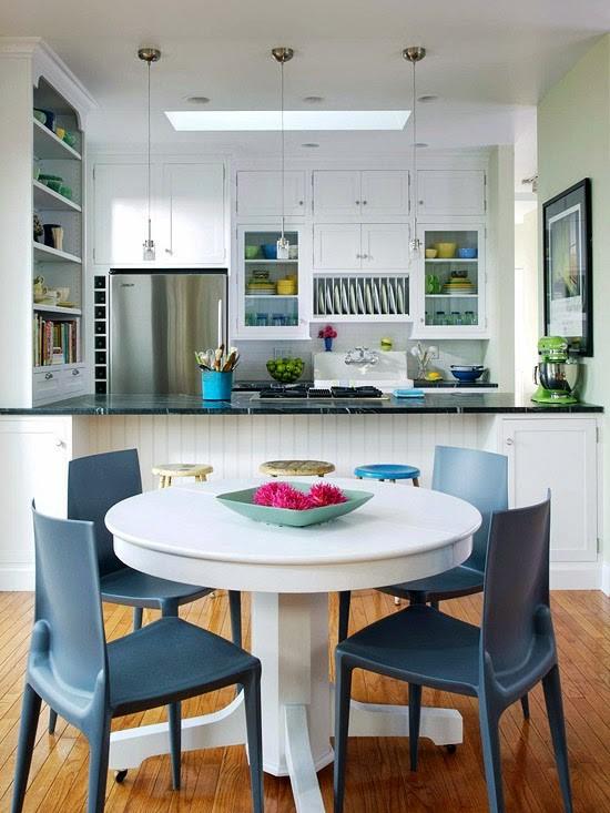 Desain Ruang Makan Minimalis Yang Menyatu Dengan Dapur