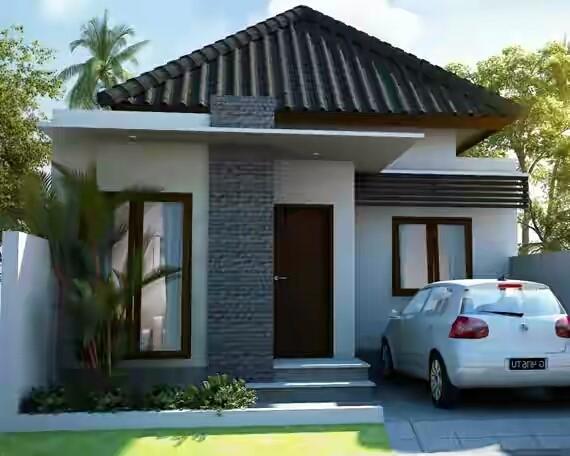 Ventilasi Rumah Minimalis 2 Lantai  gambar desain dan poin denah rumah minimalis type 36 terbaru
