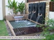 Ciptakan Taman Air Untuk Desain Taman Rumah Minimalis Modern