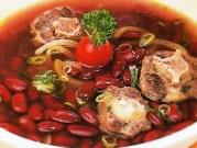 resep masakan sup kacang merah benebon khas manado